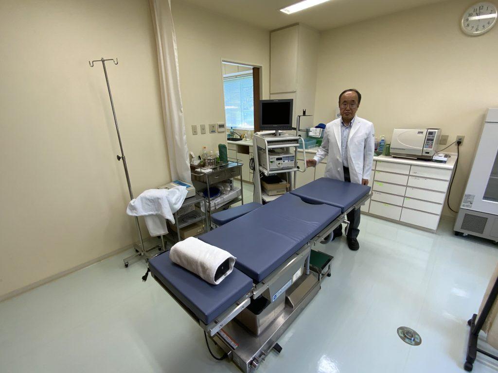 手術・検査室(膀胱鏡)